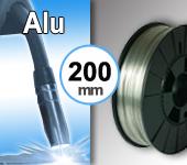 Bobine de fil ALU - Diamètre 200 mm
