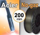 Bobine de fil fourré  ACIER  NO-GAZ- Diamètre 200 mm