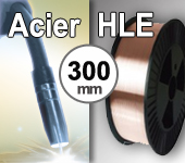 Bobine de fil ACIER HLE - Diamètre 300 mm