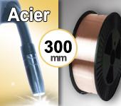 Bobine de fil ACIER - Diamètre 300 mm
