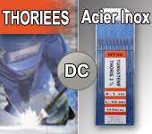 Electrodes tig Thories - Acier / Inox