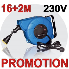Enrouleur automatique electrique 16m 2m - Enrouleur electrique vide ...