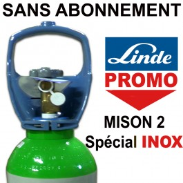 linde gas bouteille mison 2 sp cial inox dues mobil 2 3. Black Bedroom Furniture Sets. Home Design Ideas