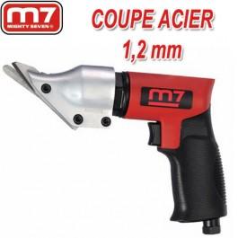 Cisaille pneumatique 90 coupe acier 1 2 mm et inox 1 0 mm - Tole acier 2mm ...