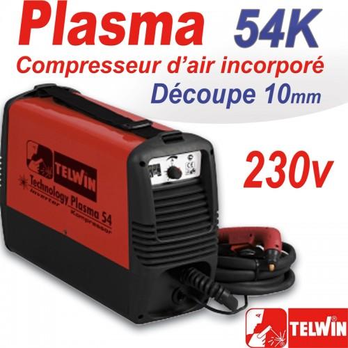 D coupeur plasma 54k kompressor telwin - Decoupeur plasma gys ...