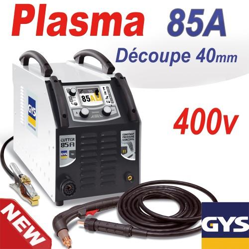 D coupeur plasma cutter 85a tri 400v gys - Decoupeur plasma gys ...