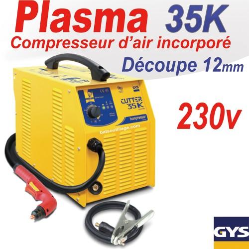 D coupeur plasma cutter 35 k pfc gys - Decoupeur plasma gys ...
