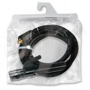 Câble porte-électrode 150/200 : monté, 4m, câble Ø 16mm², porte électrode, connecteur 10/25