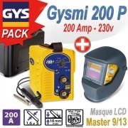 GYSMY 200P + MASQUE MASTER 9/13