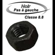 ECROU NOIR PAS A GAUCHE 8.8