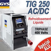 Poste à souder TIG 250 AC/DC TRI sans accessoires -GYS