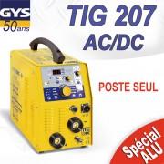 Poste à souder GYS TIG 207 AC/DC sans accessoires
