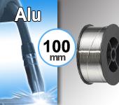 Bobine de fil ALU - Diamètre 100 mm