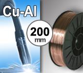 Bobine de fil CUPRO ALUMINIUM - Diamètre 200 mm