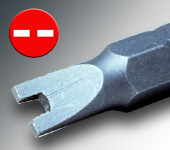 Embout SPANNER