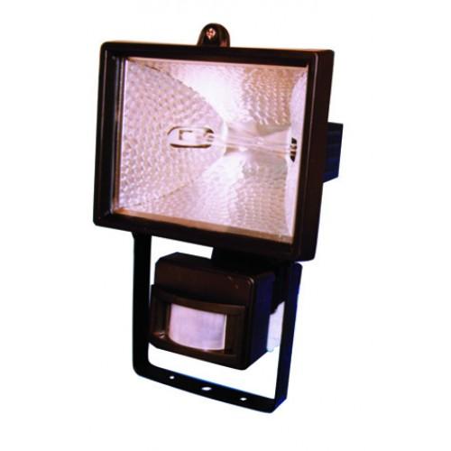 projecteur halogene standard 500 w avec detecteur radar. Black Bedroom Furniture Sets. Home Design Ideas