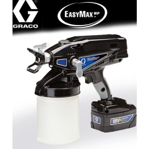 pistolet peinture professionnel easymax wp sans solvant. Black Bedroom Furniture Sets. Home Design Ideas
