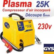 Découpeur plasma gys 25k