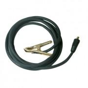 Pour monomig et trimig ( jusqu'à 255A) câbles de masse 250 A, 3 m, diam 25 mm², connecteur 10/25, pince bronze