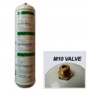 BOUTEILLE GAZ ARGON + CO2  jetable - Soudure  MIG acier inox