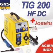 Poste à souder GYS TIG 168 HF DC avec accessoires