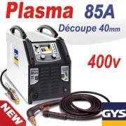 Découpeur PLASMA CUTTER 85A TRI 400V - GYS