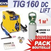 poste soudage tig 160dc lift  argon 4.5 1m3- gys
