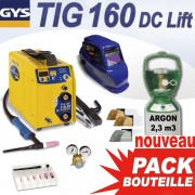 poste soudage tig 160dc lift  argon 4.5 2,3m3- gys