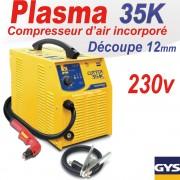 Découpeur PLASMA CUTTER 35 K  - PFC - GYS