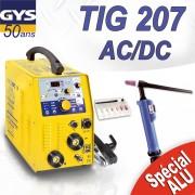 Poste à souder TIG 207 AC/DC avec accessoires -GYS